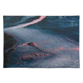 smooth lava river placemat