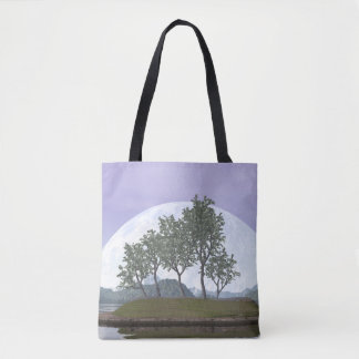 Smooth leaved elm bonsai tree - 3D render Tote Bag
