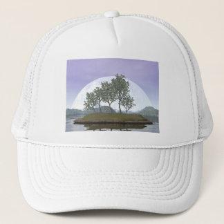 Smooth leaved elm bonsai tree - 3D render Trucker Hat