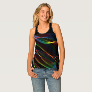 smooth lines vivid color tank