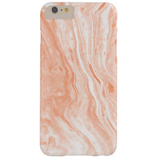 Smooth Pastel Tones Marble Stone Texture Barely There iPhone 6 Plus Case
