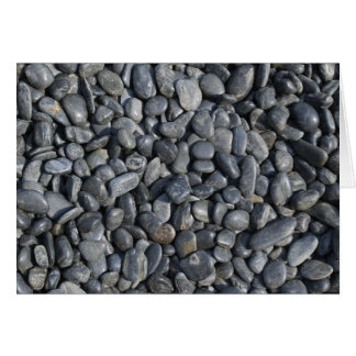 Smooth Pebbles Card