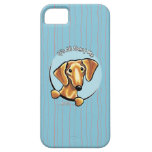Smooth Red Dachshund IAAM Case For The iPhone 5