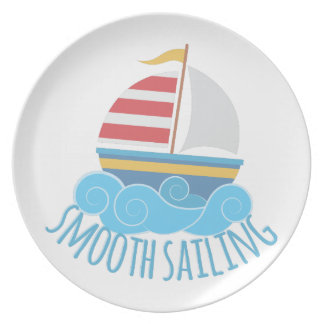 Smooth Sailiing Party Plate
