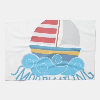 Smooth Sailiing Towel