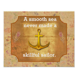 Smooth sailing -- art print
