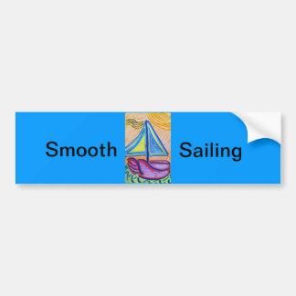 Smooth Sailing Bumper Sticker