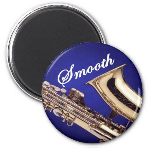 Smooth Saxophone Fridge Magnet