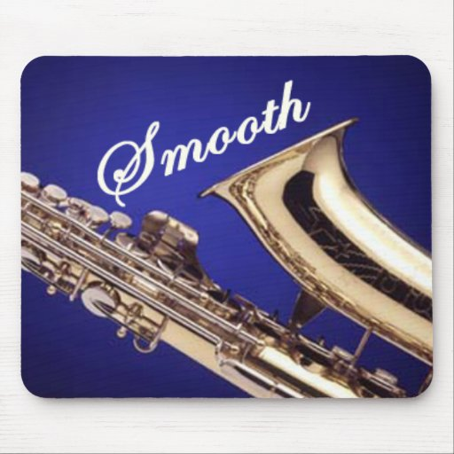 Smooth Saxophone Mouse Mats