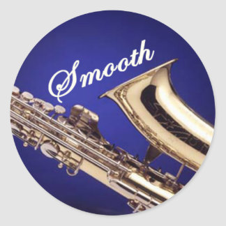 Smooth Saxophone Sticker