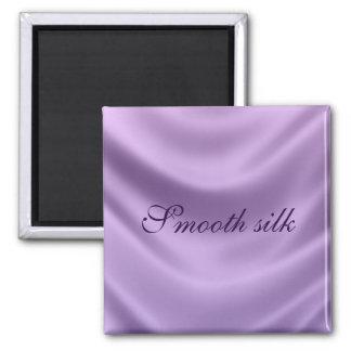 smooth silk - purple refrigerator magnet