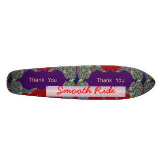 SMOOTH ThankYou: Editable Text replace your own Skate Decks