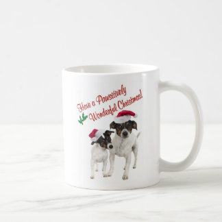 Smooth Toy Fox Terrier Christmas Wishes Basic White Mug