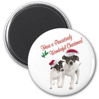 Smooth Toy Fox Terrier Christmas Wishes Magnet