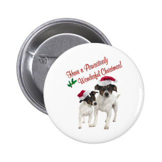 Smooth Toy Fox Terrier Christmas Wishes Pin