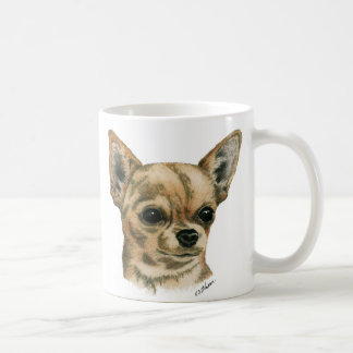 Smoothcoat chihuahua - 1 (colour) coffee mug
