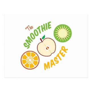 Smoothie Master Postcard