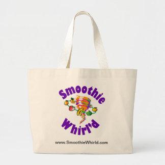 Smoothie Whirl'dLarge Tote Bag