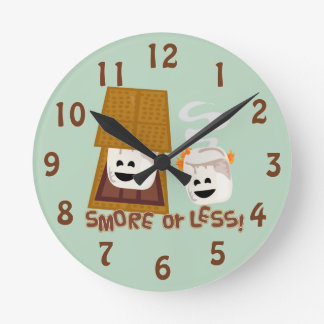 Smore or Less! Wallclock