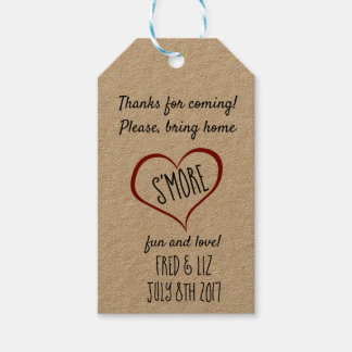 S'more Tags Take home treats, Favors