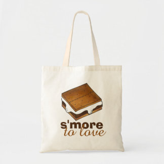 S'more To Love Campfire S'mores Foodie Food Tote