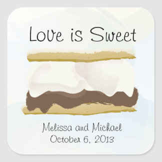 Smores Love Is Sweet Sticker