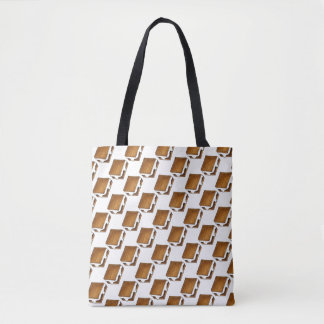 S'mores Toasted Marshmallow Campfire Smore Tote
