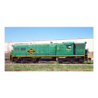 SMS Railroad Lines Baldwin AS616  # 554 Picture Card