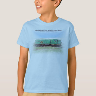 SMS Railroad Lines Baldwin AS616 # 554 T-Shirt