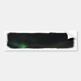Smudge of Northern Lights Bumper Stickers