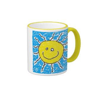 Smudgy Sun Mug