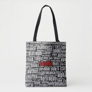 Smuffin Shameless Word Cloud All-Over Print (C) Tote Bag