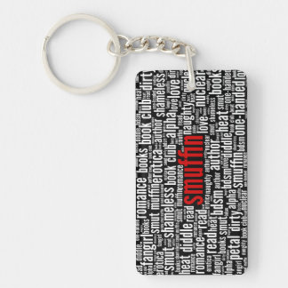 Smuffin Shameless Word Cloud All-Over Print (D) Key Ring