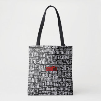 Smuffin Shameless Word Cloud (D) Tote Bag