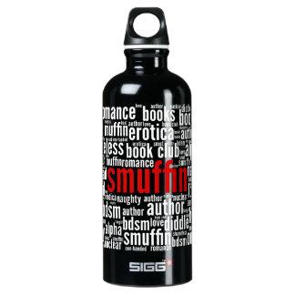 Smuffin Word Art Water Bottle