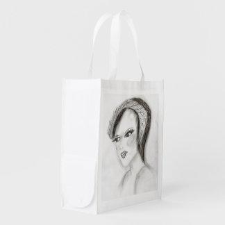 SMUG 30s Girl Reusable Grocery Bag