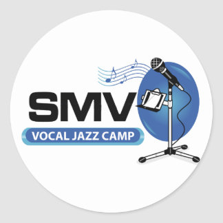 SMV Vocal J Classic Round Sticker