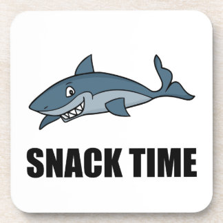 Snack Time Shark Drink Coasters