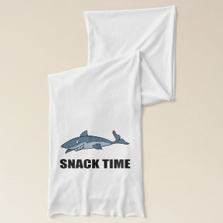 Snack Time Shark Scarf