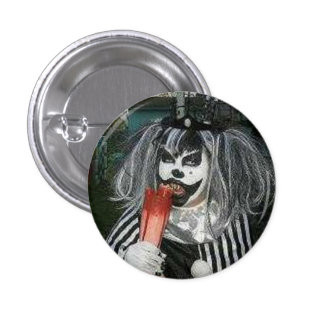 Snack time with Taffy the Klown 3 Cm Round Badge