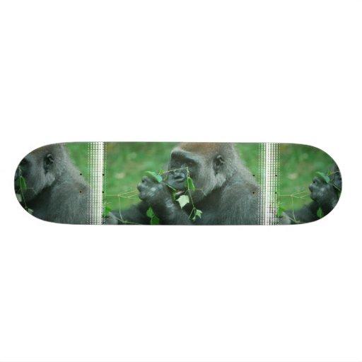 Snacking Gorilla Skateboard Deck