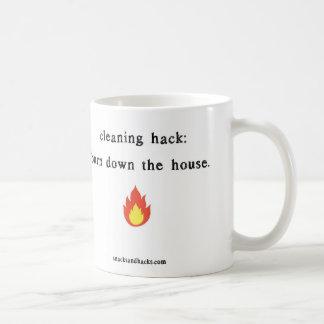 "Snacks and Hacks ""Cleaning Hack"" Mug"