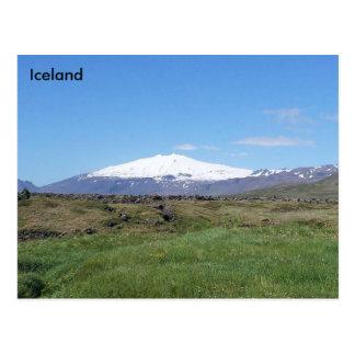 Snæfellsjökull, Iceland Postcard