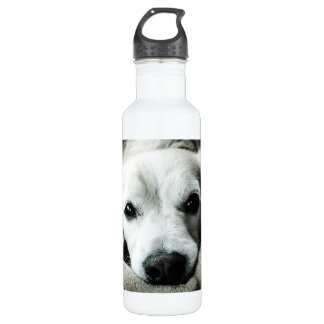 Snaggle Nose Water Bottle (24 oz), White 710 Ml Water Bottle