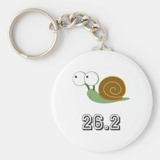 Snail 26.2 (marathon) keychains