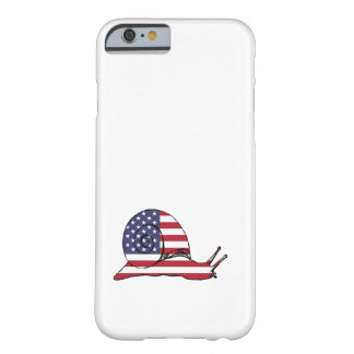 """Snail """"American Flag"""" Barely There iPhone 6 Case"""