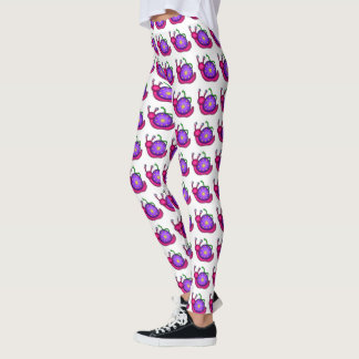 Snail and Inch Worm Friends Leggings
