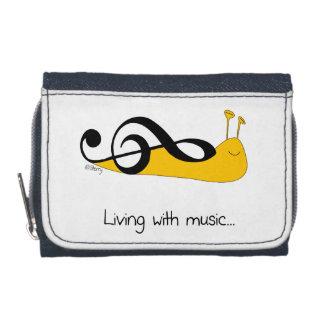 Snail Clef Music Joke Wallets