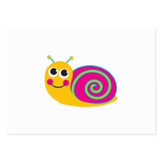 Snail Enclosure Card Pack Of Chubby Business Cards