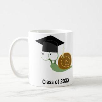 Snail Graduate 20XX Basic White Mug